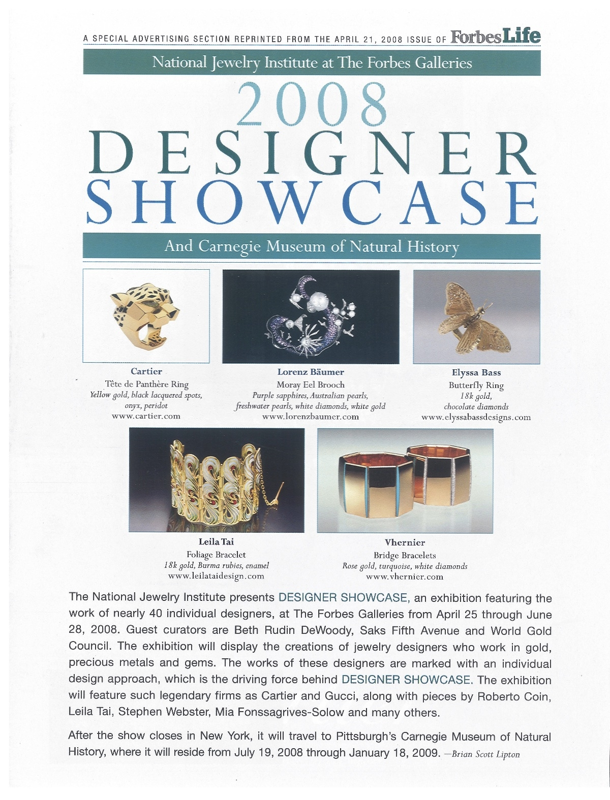 NIJI Forbes Gallery Designer Showcase 2008