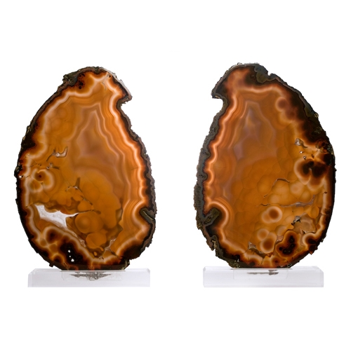 Large Opaque Agate Slices on Lucite Bases Bookmatched_Pair_of_Large_(25_tall)_Opaque_Agate_Slices_on_Lucite_Bases._Rio_Grand_do_Sul,_Brazil_.jpg