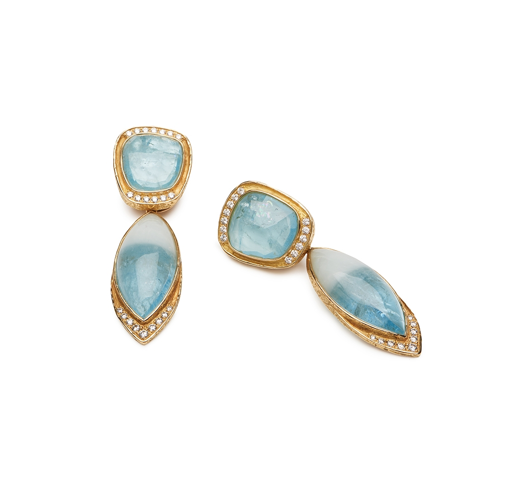 Aqua and Diamond Earrings with Removable Drops E-1484-12060_Faceted_Aqua_Slice,_Cabochon_Bi-Color_Aqua_and_Diamond_Earrings_with_Removable_Drops.jpg