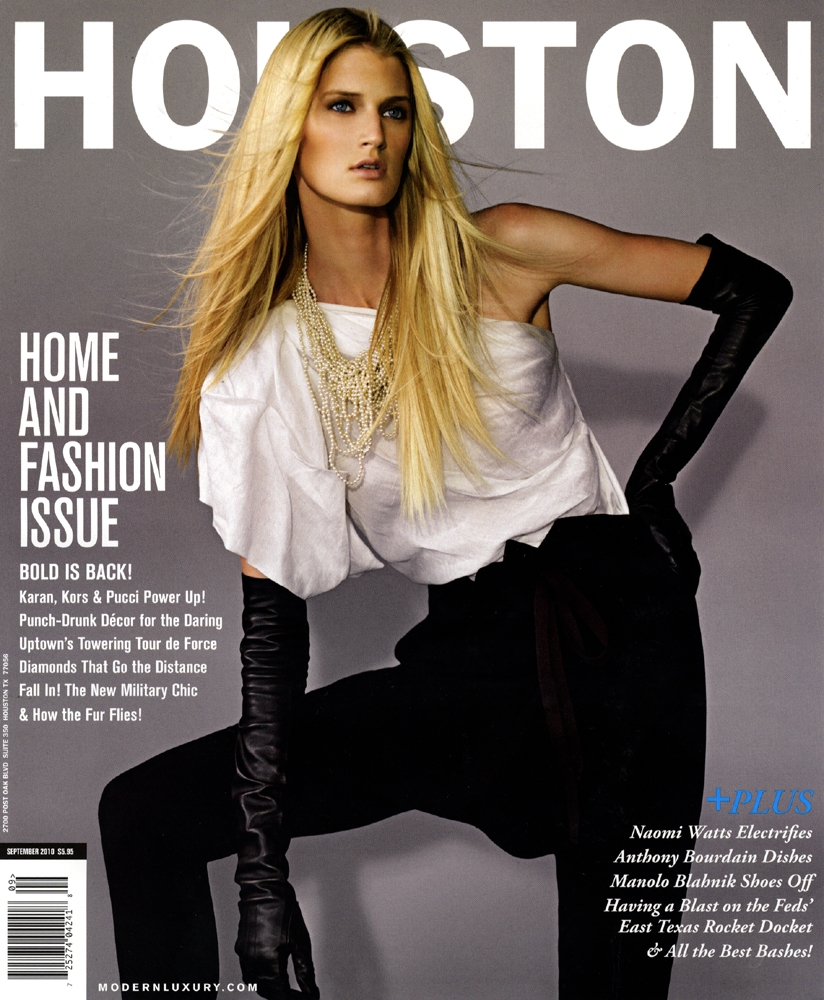 Houston Magazine September 2010