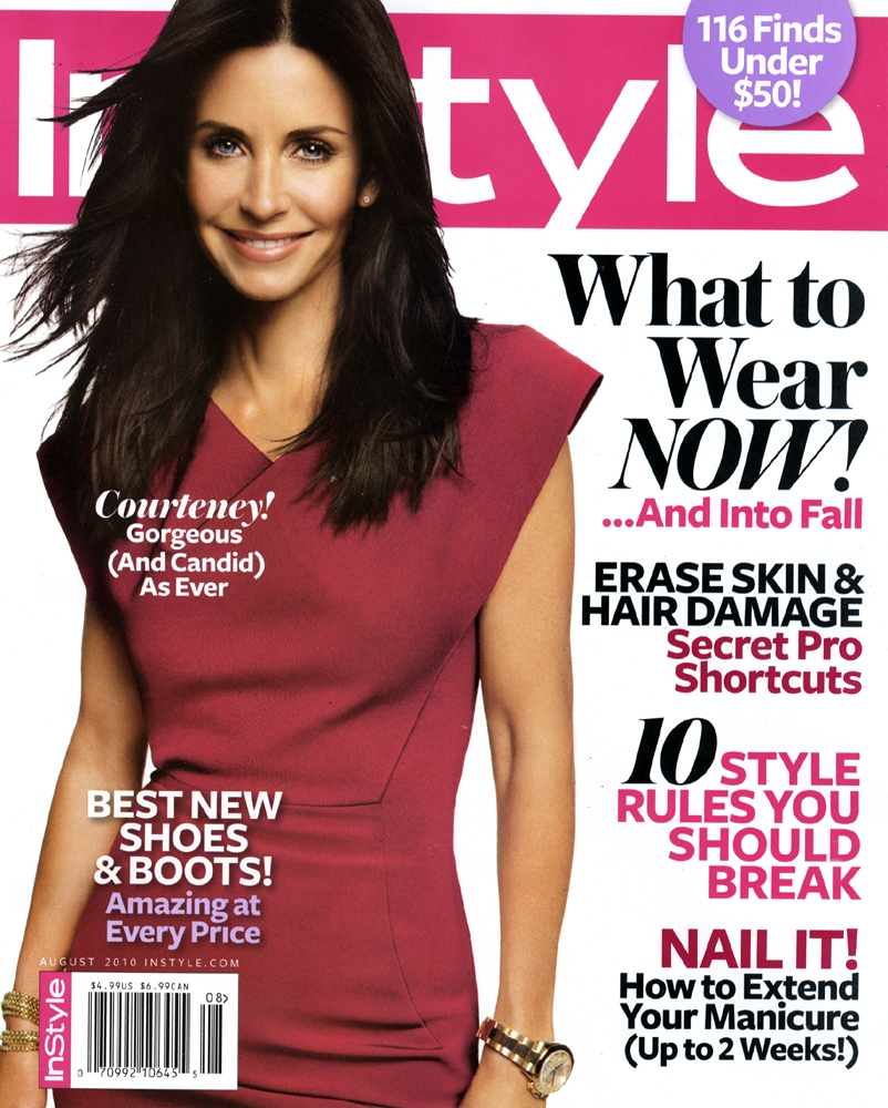 InStyle Magazine August 2010