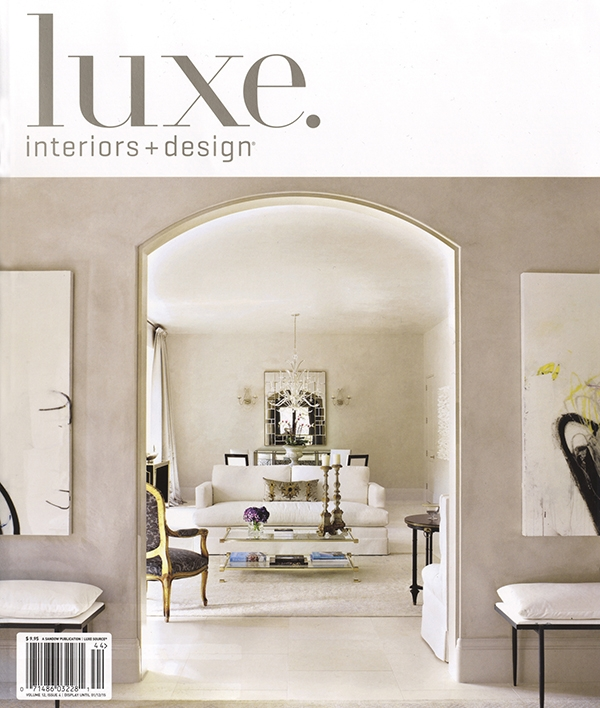 Luxe Interiors + Design Magazine Fall 2014