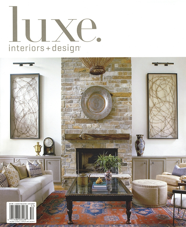 Luxe Interiors Design Magazine Press Katy Briscoe Fine