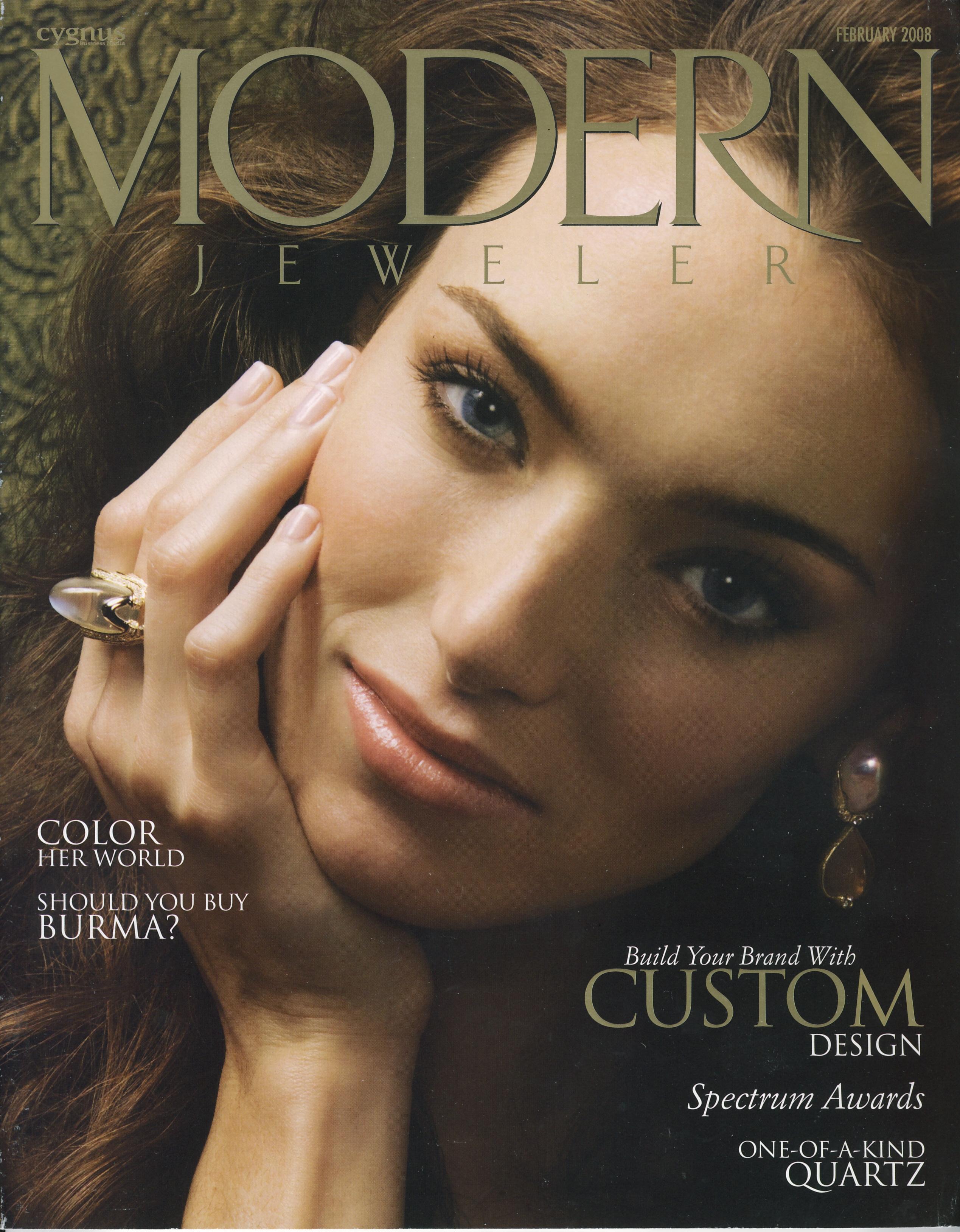 Modern Jeweler February 2008