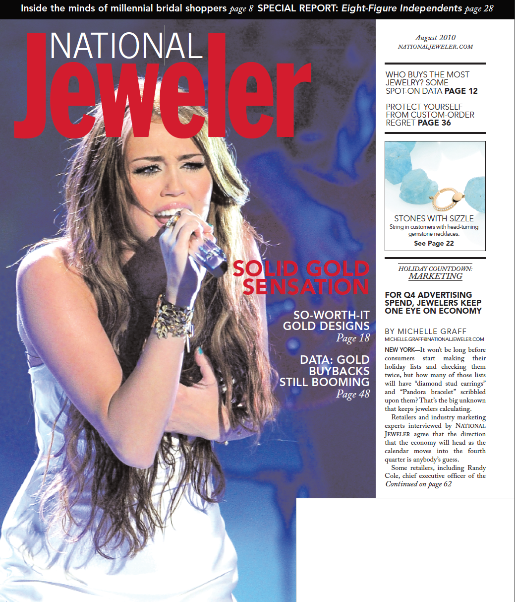 National Jeweler August 2010