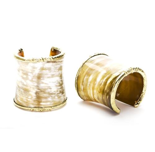 Large Horn Cuffs