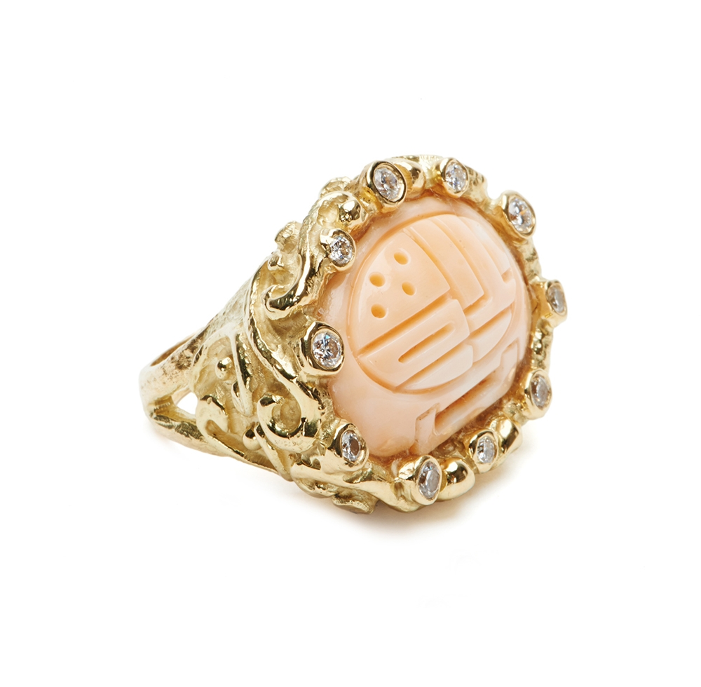 Carved Pink Coral & Diamond Ring No._44_of_78_resized_.jpg