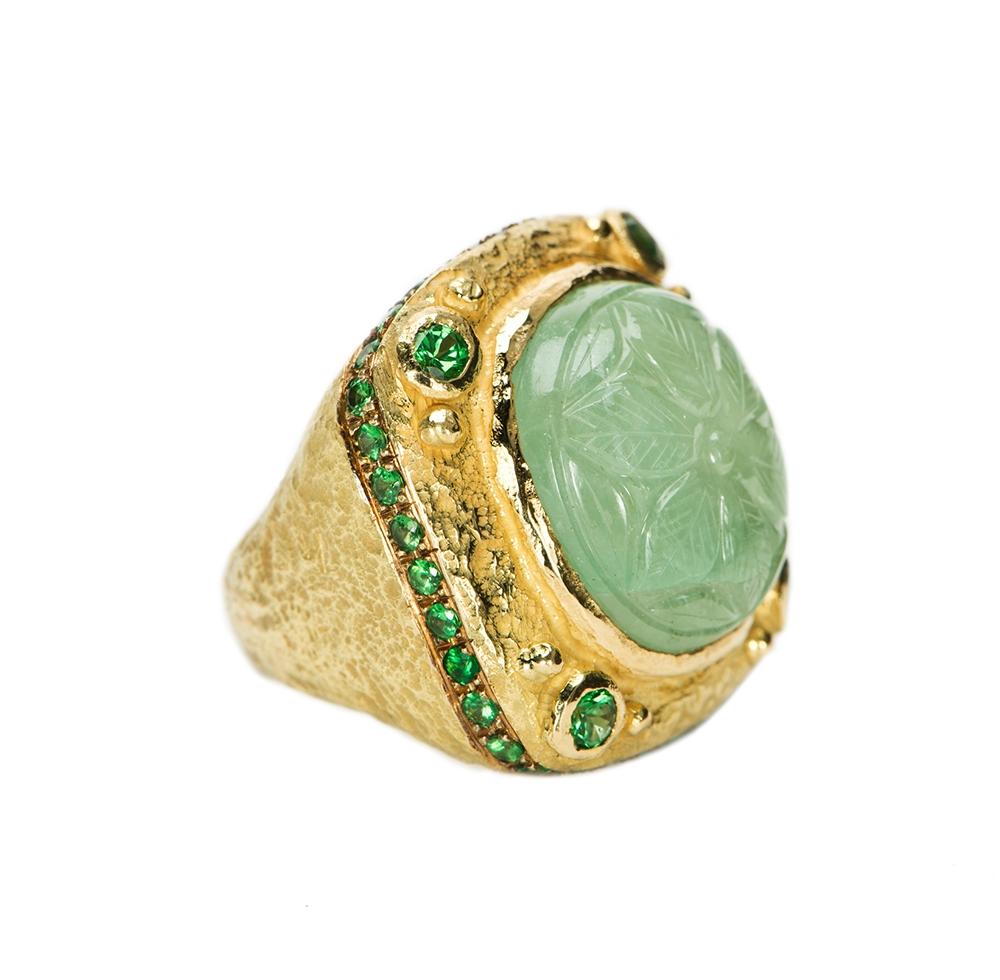Carved Emerald & Tsavorite Garnet Ring No._74_of_78_resized_.jpg