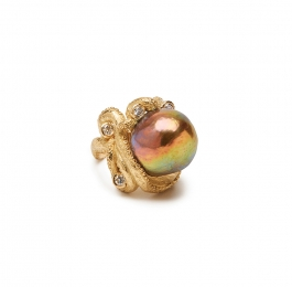 Freshwater Pearl and Diamond