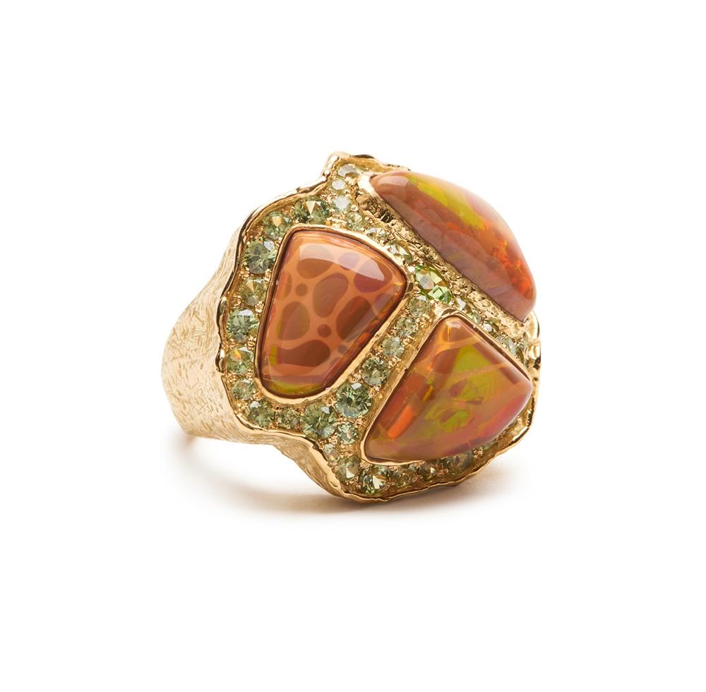 Ethiopian Opal and Garnet Ring R-1491-13332_18k_yg_Ethiopian_Opal,_Demantoid_Garnet_Ring1.jpg