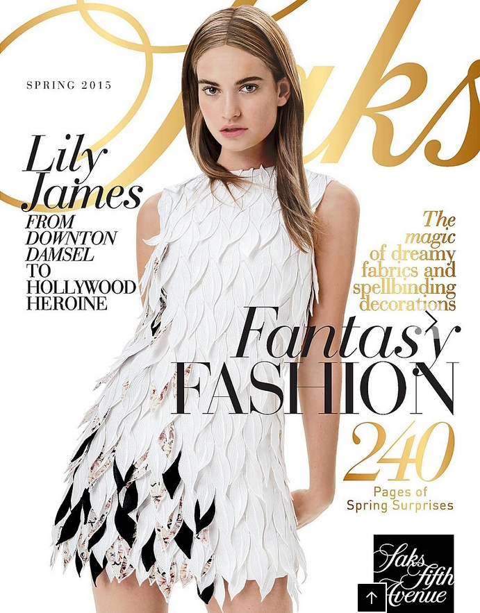 Saks Fifth Avenue Fashion Magalog March 2015